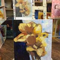 Снимок сделан в Художественная Мастерская Lilii Stepanovoy пользователем Светлана Г. 10/27/2015