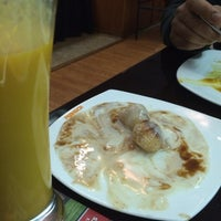 Photo taken at Rasoi Indian Kitchen by Khushboo B. on 2/1/2014