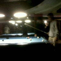 Photo taken at Barcode Pool Table by Fajar K. on 4/18/2013