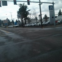Photo taken at TriMet E 122nd Ave MAX Station by Kristin O. on 3/3/2014
