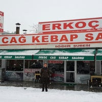 Photo taken at Erkoç Cağ Kebabı by ORHAN on 12/23/2013