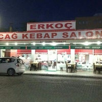 Снимок сделан в Erkoç Cağ Kebabı пользователем ORHAN 2/18/2014
