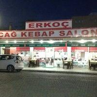 Photo taken at Erkoç Cağ Kebabı by ORHAN on 2/18/2014