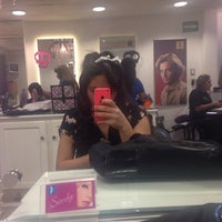 Photo taken at Patrice Coiffure   Bugambilias by Mafer D. on 10/25/2014