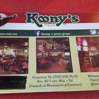 Foto tomada en Koony's Pizza, Ocoyoacac por Gaby G. el 10/11/2016