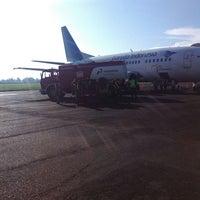 Photo taken at Radin Inten II Airport (TKG) by Den F. on 5/13/2013