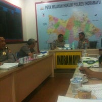 Photo taken at POLRES Indramayu by Den F. on 2/28/2013