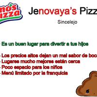 Photo taken at Jenos Pizza Sincelejo by Sincelejo R. on 12/22/2013