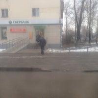 Photo taken at Сбербанк by Elena V. on 3/6/2014