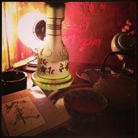Photo taken at Basama Tea Kafé Room by Libor S. on 1/27/2013
