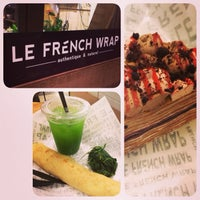 Photo taken at Le French Wrap by Sara F. on 12/7/2013