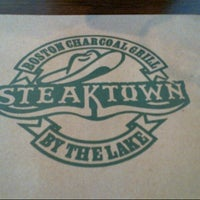 Photo taken at Steaktown by the Lake by Crisel D. on 3/31/2013