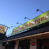 Photo taken at Mushroomburger by Crisel D. on 3/31/2013