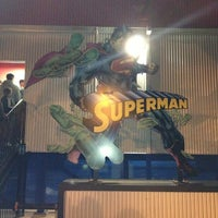 Photo taken at Superman Ultimate Flight by DJ Dax on 11/24/2012