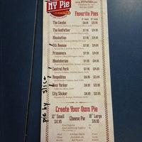Photo taken at NY Pie by DJ Dax on 2/6/2013