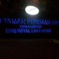 Photo taken at Royal Lake Club by Zarina S. on 9/28/2012