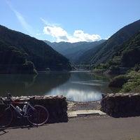 Photo taken at 名栗湖 by Satoshi W. on 6/27/2013