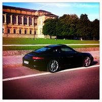 Photo taken at Porsche Zentrum Ingolstadt by Ju M. on 9/20/2012