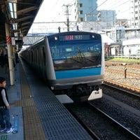Photo taken at JR 横浜線 東神奈川駅 by 秋雄 玉. on 10/27/2013