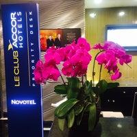 Photo taken at Novotel Beijing Sanyuan Hotel by Alena R. on 7/3/2015