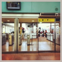 Photo taken at Estación de Gijón by Jose enrique R. on 2/17/2013