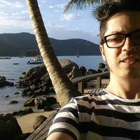 Photo taken at Che Lagarto Hostel Ilha Grande by Mauro on 12/3/2014