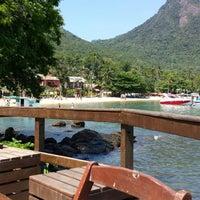 Photo taken at Che Lagarto Hostel Ilha Grande by Mauro on 12/4/2014