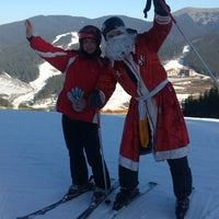 Photo taken at Траса #2 / Slope #2 by Анечка Л. on 1/1/2014