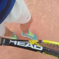 Photo taken at Tennis Club ASM by Skander Z. on 9/20/2015