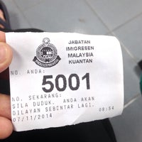 Photo taken at Jabatan Imigresen Malaysia by Yuzman Y. on 11/7/2014