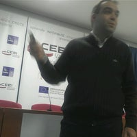 Photo taken at Ceei by Héctor P. on 11/29/2012