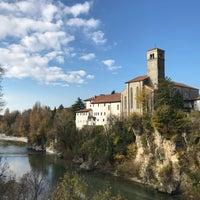 Photo taken at Ponte del Diavolo by Diego V. on 11/21/2017