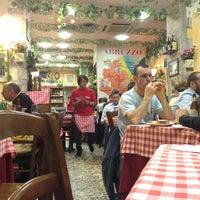Photo taken at Da Giannino - L'Angolo d'Abruzzo by Rust R. on 5/8/2013