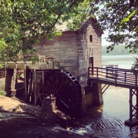Photo taken at Grist Mill / Stone Mountain Park by Mash M. on 8/6/2014