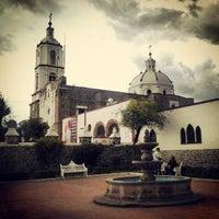 Photo taken at Parroquia de San Francisco de Asis Coacalco by Sebastian S. on 9/28/2013