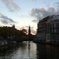Photo taken at Halvemaansbrug (Brug 221) by Christian T. on 10/17/2013