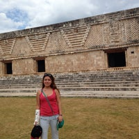 Photo taken at Uxmal by Angie O. on 4/19/2014