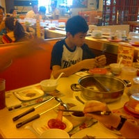 Photo taken at Shabu Slim by A S. on 5/25/2014