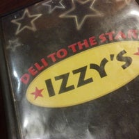 Photo taken at Izzy's Deli by Rob M. on 10/7/2012