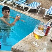 Photo taken at Boraes Hotel by Mehmet T. on 7/18/2015