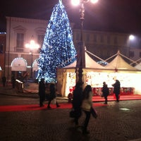 Photo taken at Piazza Vittorio Emanuele II by Alessandro B. on 12/22/2012