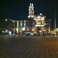 Photo taken at Plaza de Santo Domingo by Jose Enrique N. on 12/16/2012