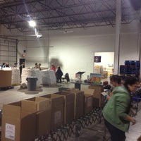 Photo taken at Gleaners Community Food Bank by Eric L. on 1/5/2013