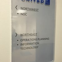 Photo taken at United Airlines HQ by Jonathan Jorkaef P. on 8/30/2016