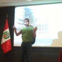 Photo taken at Auditorio Universidad Privada del Norte by Claudia V. on 6/18/2013
