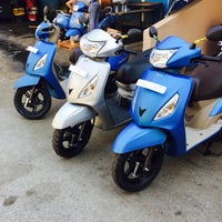 Photo taken at Kalender Moto Market by Cihan K. on 8/29/2016