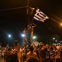 Photo taken at Pyrros Square by Αρετή Κ. on 6/24/2014