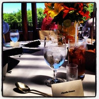 Photo taken at La Laguna Restaurant & Lounge by Claudia T. on 10/1/2013