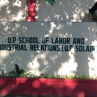 Photo taken at School of Labor and Industrial Relations (SOLAIR), University of the Philippines by VP Teody on 4/13/2018