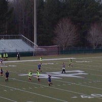 Photo taken at North Forsyth High School by Mike E. on 1/20/2015